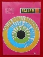Catalogue 1970 Modélisme - FALLER - N°870 - Otras Colecciones