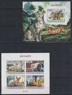 V965. Burundi - MNH - Animals - Cats - 2013 - Imperf - Other