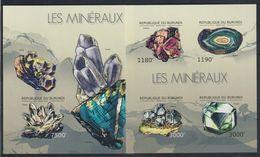 V965. Burundi - MNH - Nature - Minerals - 2012 - Imperf - Plants