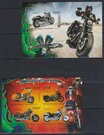 V965. Burundi - MNH - Transport - Motorcycles - 2012 - Imperf - Transport