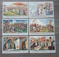 Figurine LIEBIG - Storia D'Italia II - Rif. N° 1552- 6 Figurine - Liebig
