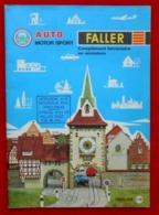 Catalogue 1965/66 Modélisme - FALLER - - Andere Sammlungen