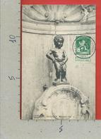 CARTOLINA VG BELGIO - BRUXELLES - Manneken Pis - 9 X 14 - 1918 - Monumenti, Edifici