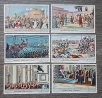 Figurine LIEBIG - Storia D'Italia XII - Rif. N° 1698 - 6 Figurine - Liebig