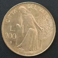 VATICAN - VATICANO - 200 LIRE 1979 - Jean Paul II - KM 147 - Vatican
