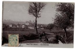 THUIR VUE GENERALE ANIMEE - Francia