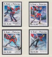 Sao Tome 2018 Olympic Games In PyeongChang - 4 Stamps MNH/** (H59D-4A) - Inverno 2018 : Pyeongchang