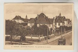 CPSM MILITAIRE COLMAR (Haut Rhin) - Quartier WALTER : Vue Générale De La Caserne - Colmar