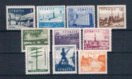 Türkei 1959/60 Industrie Mi.Nr. 1697/706 Kpl. Satz ** - 1921-... Repubblica