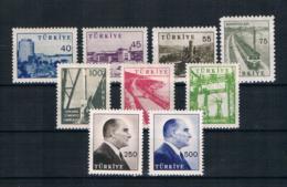 Türkei 1960 Industrie Mi.Nr. 1785/93 Kpl. Satz ** - 1921-... Repubblica