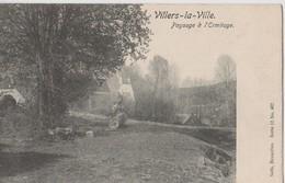VILLERS - LA - VILLE     PAYSAGE  A  L ' ERMITAGE - Villers-la-Ville