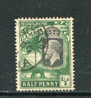 GAMBIE- Y&T N°93- Oblitéré - Gambia (...-1964)