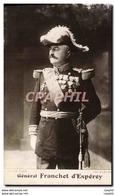 CPA General Franchet D&#39Esperey - Characters