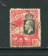 GAMBIE- Y&T N°95- Oblitéré - Gambia (...-1964)