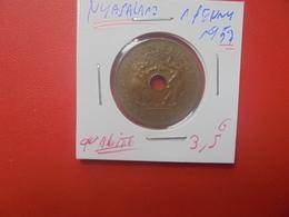 NYASALAND(RHODESIE) 1 PENNY 1957 TRES BELLE QUALITE (A.6) - Rhodésie