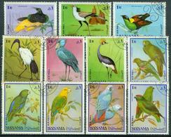 Bm Manama 1969 MiNr 159-169 A Used | Birds, Airmail - Manama