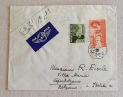 Busta Di Lettera Per Via Aerea Da Alessandria Per Soprabolzano (Ita) - Novembre 1948 - Posta Aerea