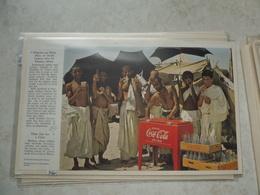 Affiche Publicitaire Coca Cola 25cm Sur 16 ( Bouteille )   1953 Copyright / Reclamaffiche Cola - Afiches Publicitarios