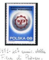 POLONIA (POLAND) - SG 2068 - 1971 INT. FAIR, POZNAN   - MINT** - RIF. CP - 1944-.... Repubblica