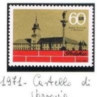 POLONIA (POLAND) - SG 2103 - 1971 ROYAL CASTLE, WARSAW    - MINT** - RIF. CP - 1944-.... Repubblica