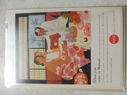 Affiche Publicitaire Coca Cola 25cm Sur 16  -( Bouteille ) 1957copyright / Reclamaffiche Cola - Afiches Publicitarios