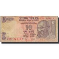 Billet, Inde, 10 Rupees, 2009, 2009, KM:95k, B+ - Inde