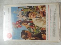 Affiche Publicitaire Coca Cola 25cm Sur 16  -( Suisse ) 1958 Copyright / Reclamaffiche Cola - Afiches Publicitarios