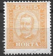 Horta – 1892 King Carlos 5 Réis - Horta