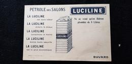 BUVARD LUCILINE Pétrole Des Salons ( Lampants ) Env ROUEN 76 Îlot Bord De Seine ( Se Vend En Bidons De 5 L ) Lumière - Öl & Benzin