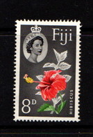 FIJI  1959    8d  Scarlet  Yellow  Green  And  Black    MH - Fiji (1970-...)