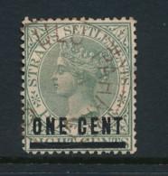 MALAYA, Postmark Ulu Pahang On Straits Settlements Stamp - Pahang