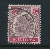 MALAYA, Postmark Singapore On S. Ujong Stamp - Negri Sembilan