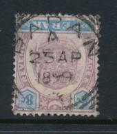 MALAYA, Postmark PAPAN (PERAK) - Perak