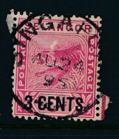 MALAYA, Postmark Singapore On Selangor Stamp - Johore
