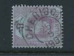 STRAITS SETTLEMENTS, Postmark Cheribon (Used In Netherlands Indies) - Straits Settlements