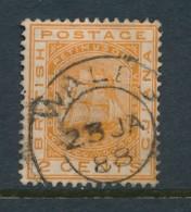 BRITISH GUIANA, Postmark WALES - Guyana Britannica (...-1966)