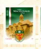 Ref. 190631 * NEW *  - CANADA . 2006. CENTENARY OF MACDONALD SCHOOL. CENTENARIO DEL COLEGIO MACDONALD - 1952-.... Reinado De Elizabeth II