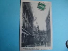 75 - PARIS - Sapeurs Pompiers - Incendie Du Bureau Central - 1910 - Sapeurs-Pompiers