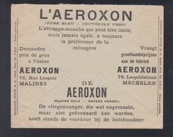 Service Des Postes Lettre 1933 Aeroxon - Postdokumente