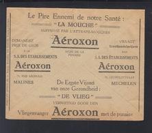 Service Des Postes Lettre 1931 Aeroxon - Postdokumente