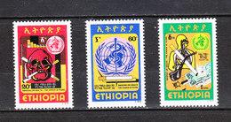 Etiopia - 1980. Contro Il Fumo. No Smocking. Complete MNH Series - Droga