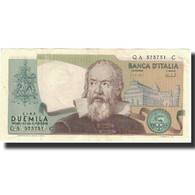 Billet, Italie, 2000 Lire, 1973, 1973-10-08, KM:103a, TTB+ - 2000 Lire