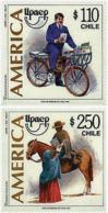 Ref. 32155 * NEW *  - CHILE . 1997. AMERICA-UPAEP. THE POST MAN. AMERICA-UPAEP 1997 -  EL CARTERO - Chile