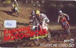 Telecarte MOTOR (1916)  - MOTORCYCLE -Phonecard - Motorräder