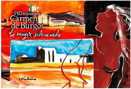 CARMEN DE BURGOS. ALMERÍA.TARJETA  PREFRANQUEADA ESPAÑA. TARIFA A. ENTERO POSTAL. Postcard Paid Postage. - Entiers Postaux