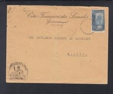 Lettre Cote Francais Des Somalis Gouvernement A Aden - Französich-Somaliküste (1894-1967)