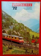 Catalogue1972 Modélisme Ferroviaire- FLEISCHMANN - Otras Colecciones