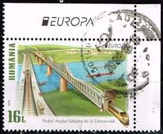 Rumänien 2018,Michel# 7363 A O  Europa (C.E.P.T.) 2018 - Brücken - 1948-.... Républiques
