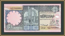 Libya 1/4 Dinar 1991 P-57 (57b) UNC - Libya