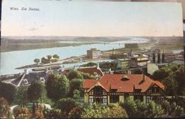 AUSTRIA, OSTERREICH, Wien..Vienna......Die Donau....1907 - Altri